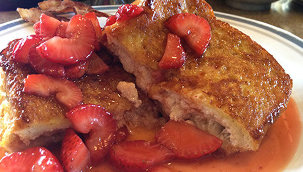 Mascarpone Double French Toast