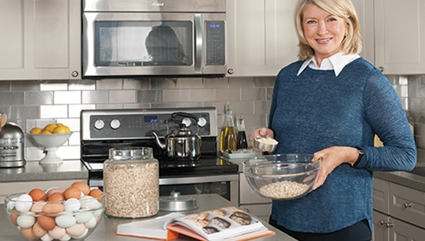 Martha Stewart - At The Delicious Food Show In Toronto